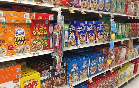 reelin   years  cereal aisle