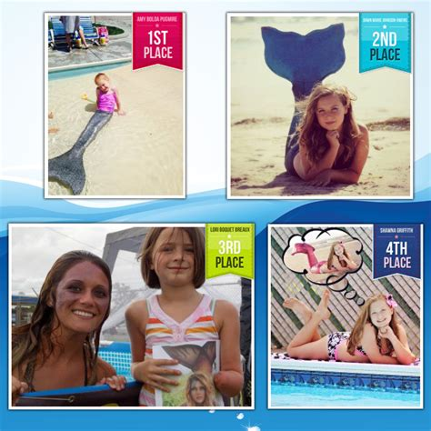 contest winners 2014 fin mermaid photo contest giveaway winners announced