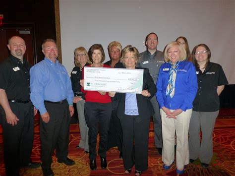 West Bend Food Pantry by River Bend Food Bank Receives 3 440 Donation From
