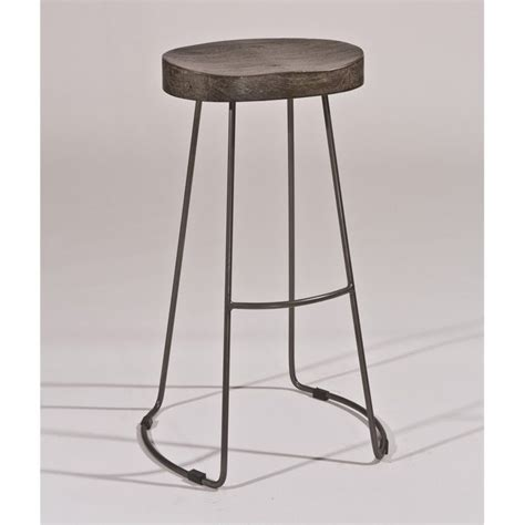 pewter bar stools hillsdale hobbs 30 quot tractor non swivel bar stool in black