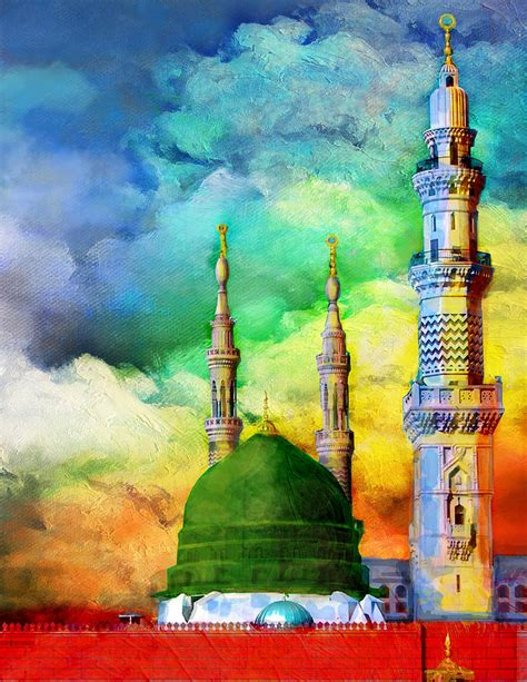 islamic painting islamic painting 009 painting by catf
