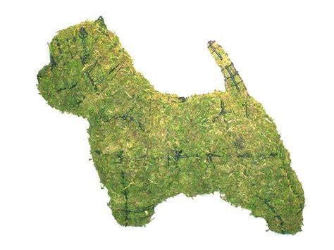 animal topiary frame westie animal topiary frame
