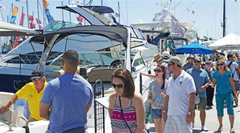 san pedro boat show first ever southern california in water boat show held in