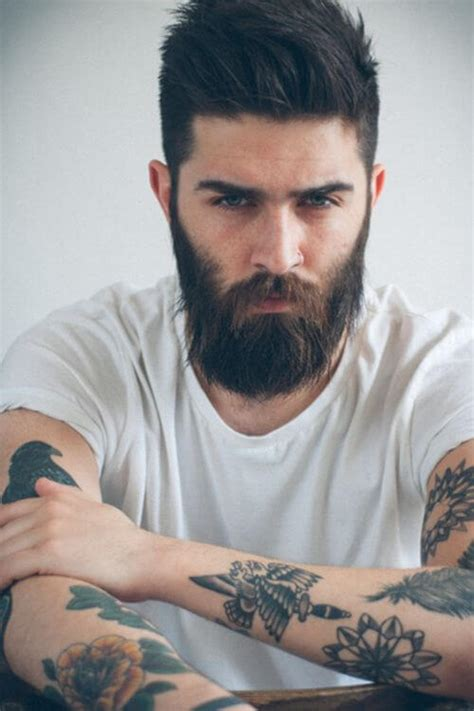 25 tattooed guys with amazing hairstyles