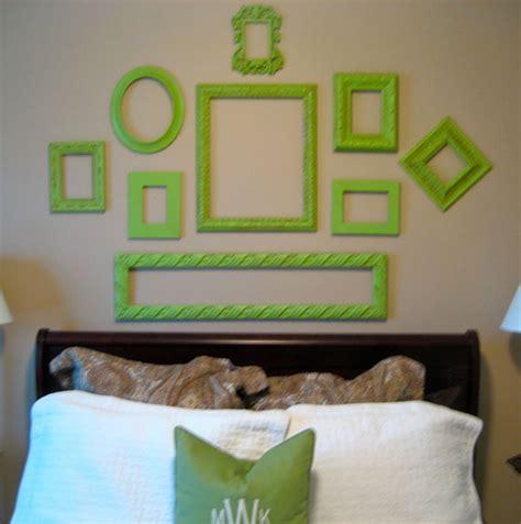 wand dekorieren bilderrahmen dekorieren kreative wandgestaltung freshouse