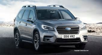 Cars Subaru Future Cars Subaru S 2018 Ascent Into 3 Row Suv Territory