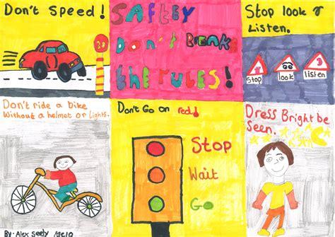 poster design road safety thames valley alert