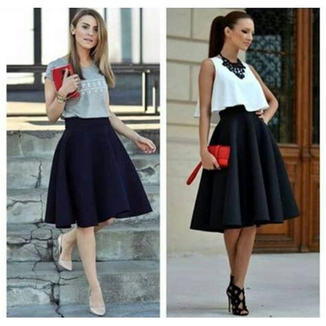 1000 ideias sobre saia social cintura alta no pinterest 1000 ideias sobre vestido de saia rodada no pinterest