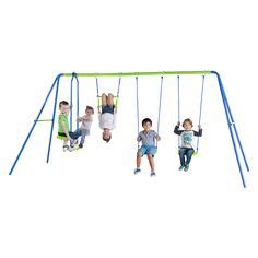 target swing sets australia 6 station swing set kmart 199 back yard to do pinterest