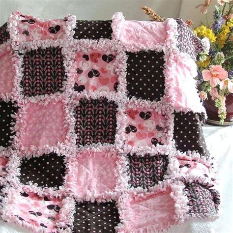 Pattern For Baby Rag Quilt With Flannel by Baby Rag Quilts Patterns Co Nnect Me