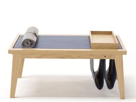 Low Oak Coffee Table Low Rectangular Oak Coffee Table With Tray Bergen By Egoitaliano
