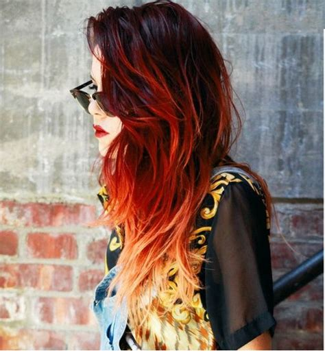 can i out an ombre into mybob hair ideas for red ombre for 2017 new hair color ideas