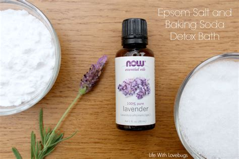 Baking Soda And Salt Bath Detox by Epsom Salt And Baking Soda Detox Bath With Lovebugs