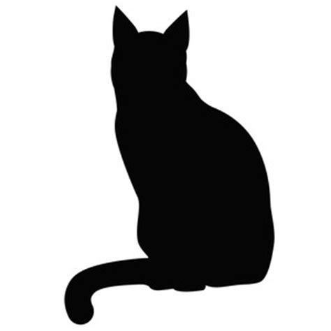 silhouette design store view design 220416 sitting cat