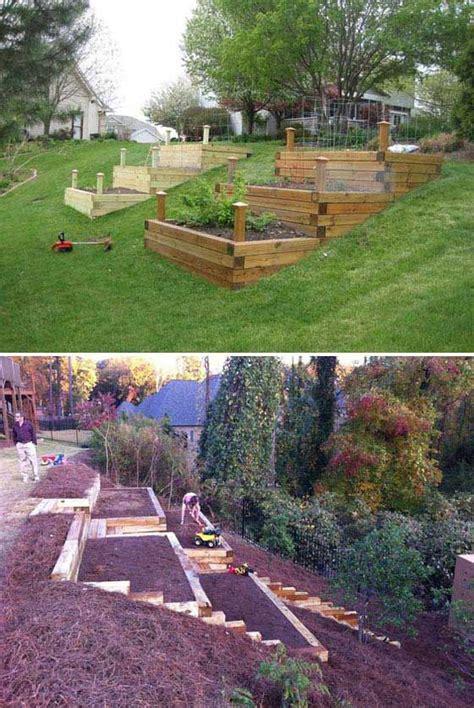 yard design ideas top 25 best landscaping a hill ideas on