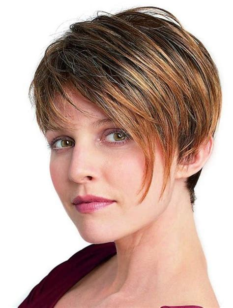 ladies short haircut to make hair look thicker short hairstyles for women thick hair thicker hair