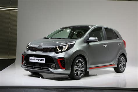 all new kia picanto city car detailed gains sporty turbo
