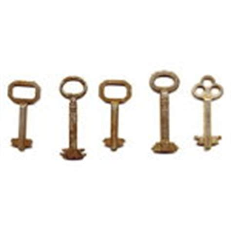 collection of 5 antique roll top desk lock barrel 07