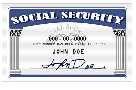 social security card template font decoding your social security number money care