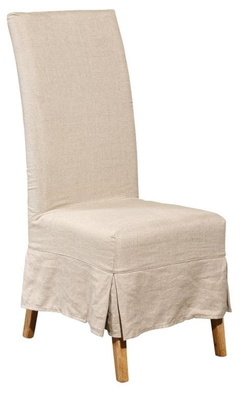 slip covered dining chairs slipcovered dining chair at 1stdibs