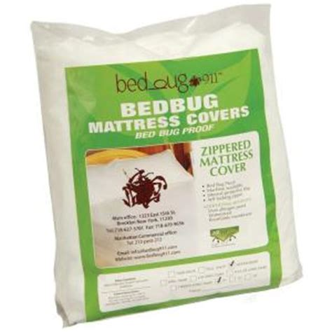 bed bug covers home depot standard zippered allergen dust mites 12 in d king