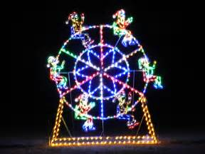pictures on christmas ferris wheel decoration easy diy