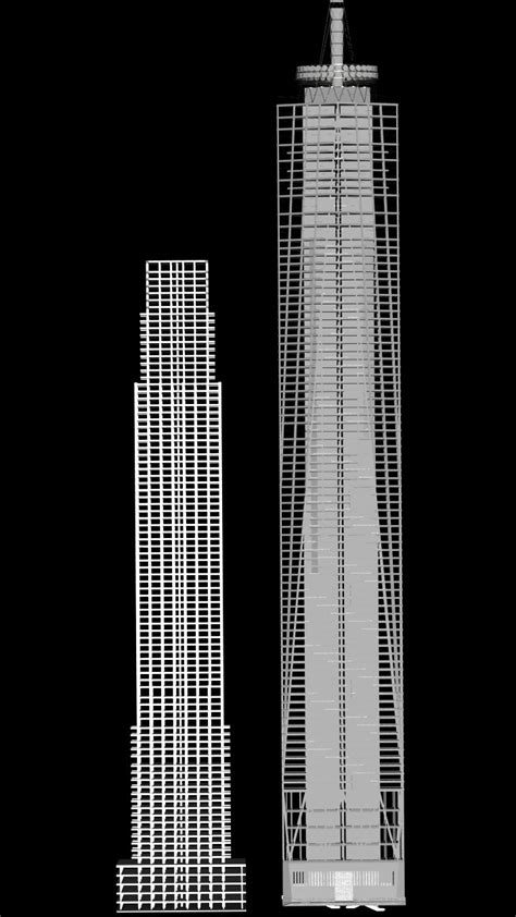 1 wtc floors skyscrapers one world trade centre design