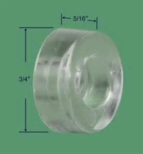 shower door bumpers 10 111 clear shower door bumper swisco