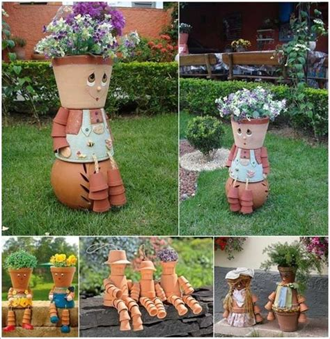 Decorating Ideas Your Clay Pots 10 Awesome Decoration Ideas With Clay Pots