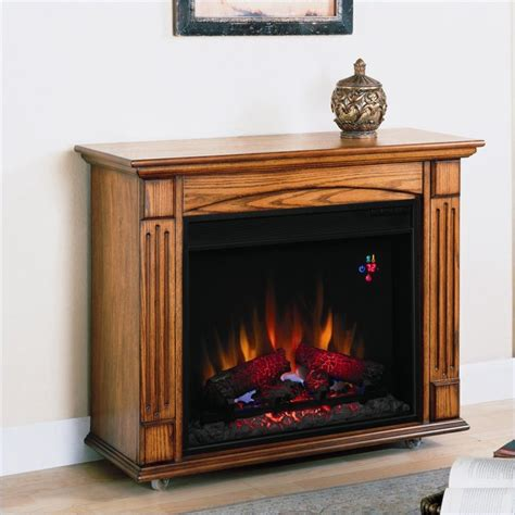 Oak Electric Fireplace Classic Lancaster Antique Oak Electric Fireplace Ebay