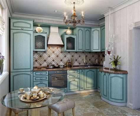 kitchens with blue cabinets pictures of kitchens traditional blue kitchen cabinets