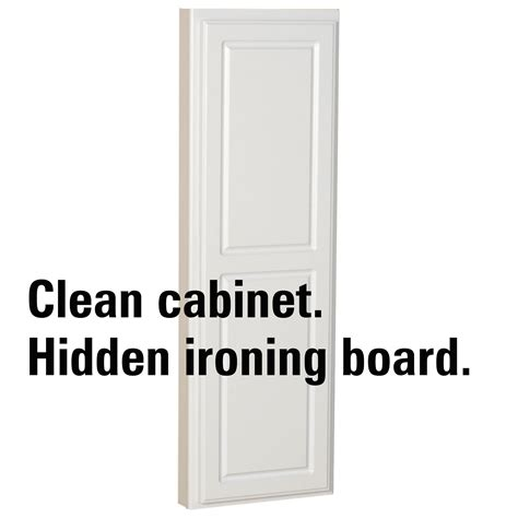 stow away ironing board cabinet amazon com household essentials 18200 1 stow away in wall