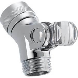 delta plastic chrome pin mount swivel connector az