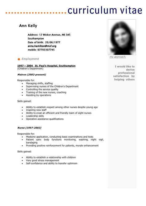 Best Resume Format To Use In 2016 by Cv Template Ann Kelly