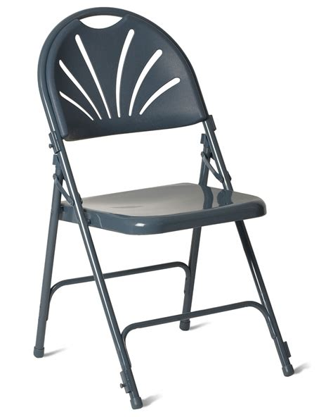 Steel Folding Chair by Fanback Steel Folding Chair