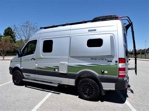 winnebago revel   sprinter mercedes turbo