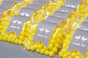Lemon Themed Favors by Lemon