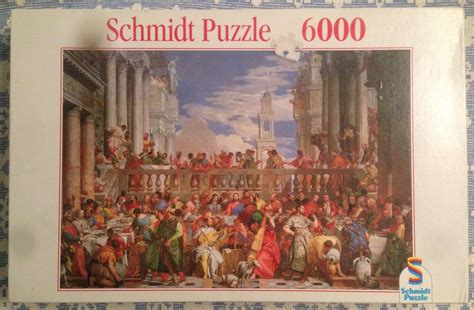 Wedding At Cana Puzzle by 6000 Schmidt The Wedding At Cana Paolo Veronese