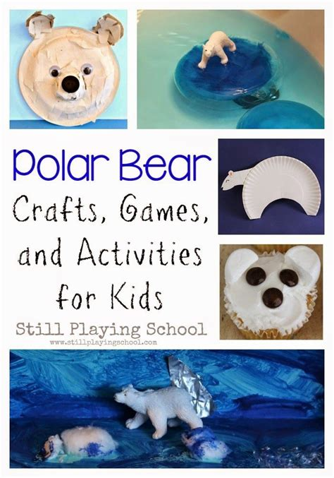 polar craft for 17 best images about polar bears information activities
