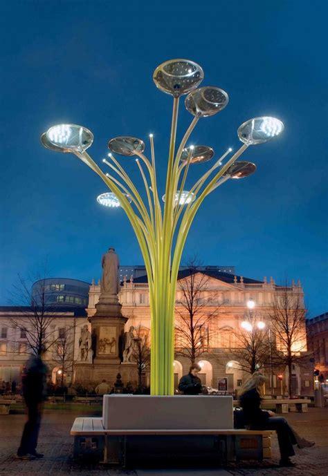 solar tree lights the city of the future