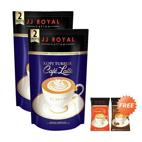 Jj Royal Kopi Tubruk Mocha Latte jual jj royal kopi tubruk cafe latte inner 30 g 2 pcs 2