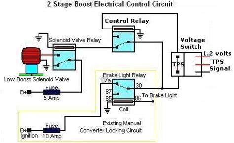 2 Stage Boost Electrical Circuit