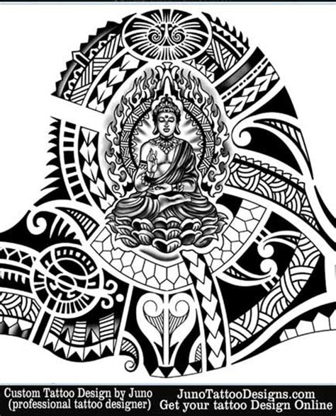 buddha tribal tattoo designs 42 best images about schouder stuk on
