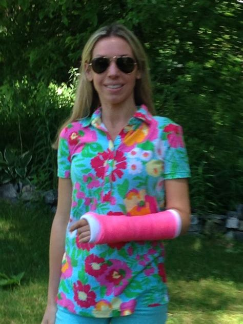 colors the cast arm cast lilly pulitzer and polos on
