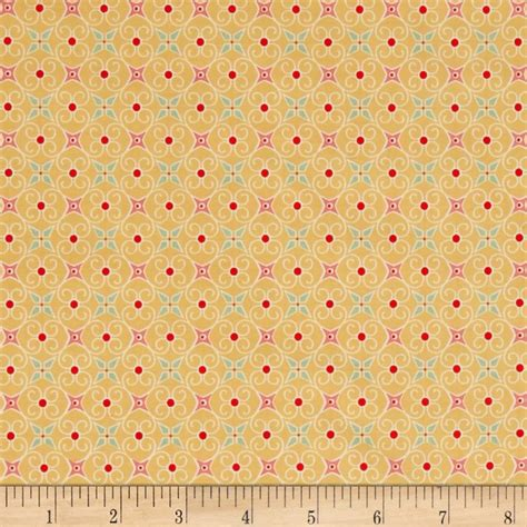 Fabric Paper - cozy wrapping paper yellow