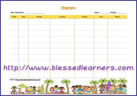 printable school holiday planner summer holiday planner template printable free school