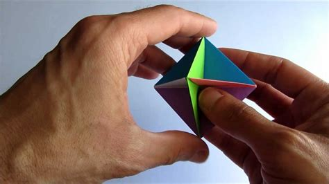 Origami Rob S World - easy origami modular spinner