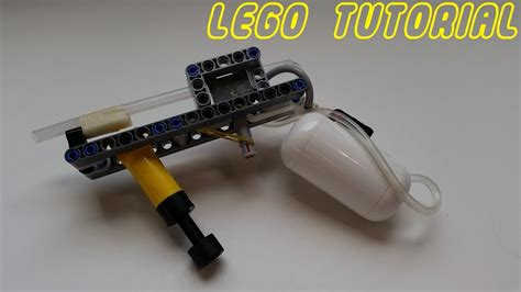 lego revolver tutorial lego tutorials lego air gun youtube