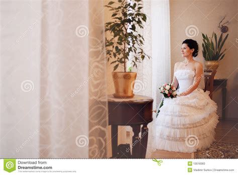 bride waiting   groom stock image image  bride
