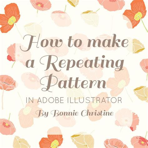 repeat pattern quotes how to make a repeating pattern in adobe illustrator